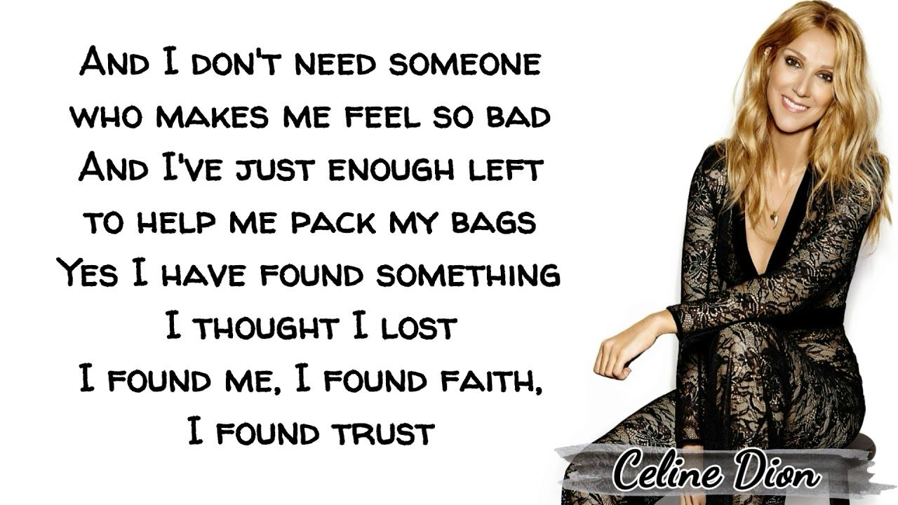 Celine Dion Lying Down Lyrics Celine Dion Celine Lyrics