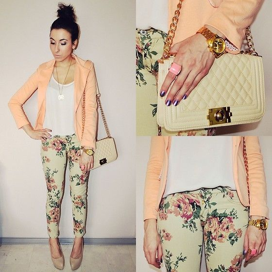 Floral (by Pam S) http://lookbook.nu/look/4724101-floral