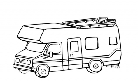 Living In Small Spaces Guest Post Camping Coloring Pages Coloring Pages Colouring Pages
