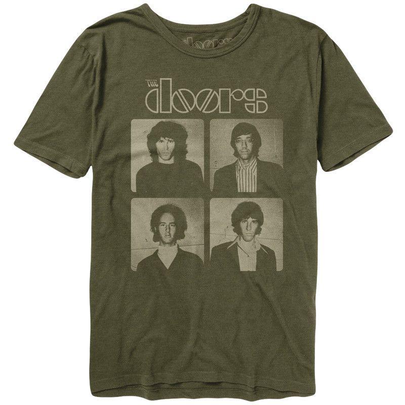 The Doors Backstage Portrait T-Shirt  sc 1 st  Pinterest & The Doors Backstage Portrait T-Shirt | The Doors | Pinterest ... pezcame.com