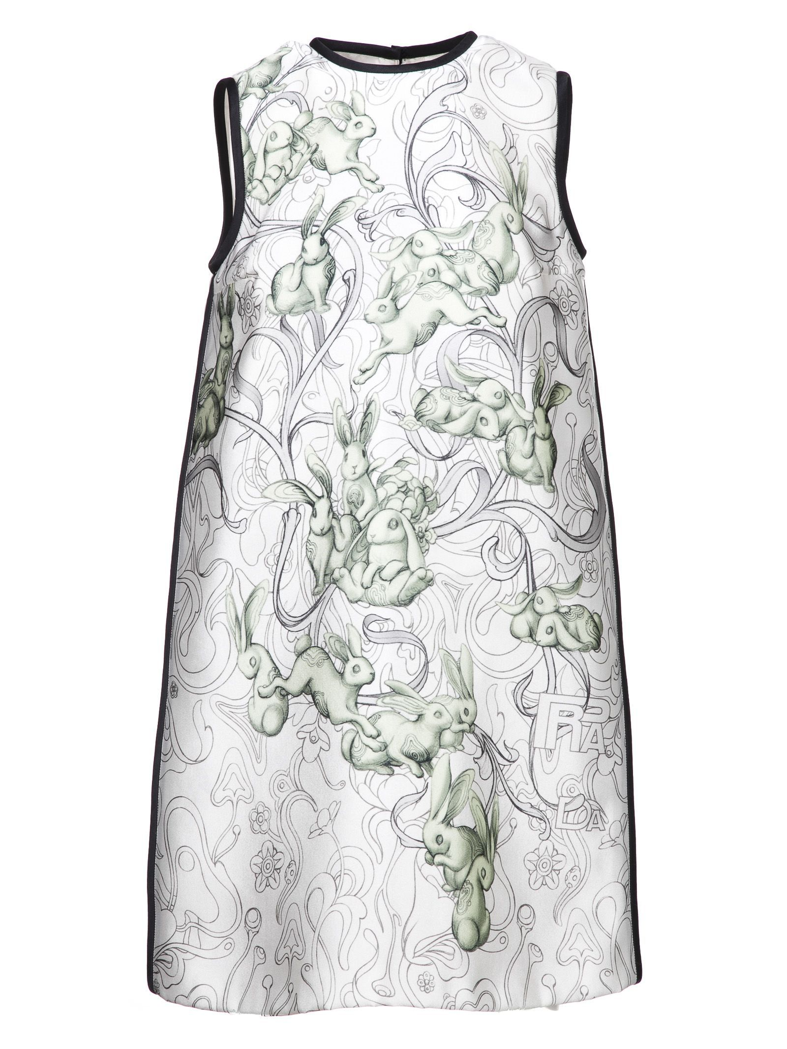 PRADA RABBITS DRESS. #prada #cloth # | Prada | Pinterest | Fashion