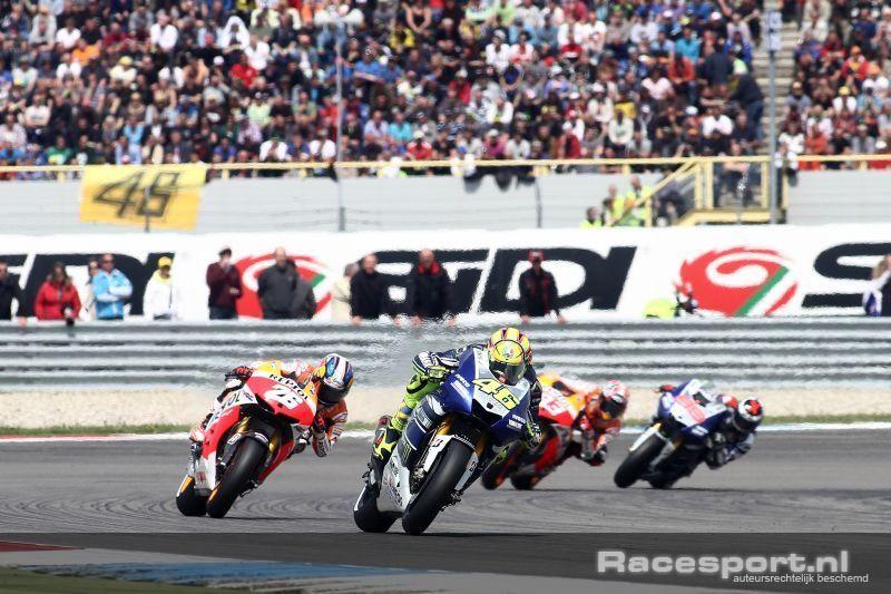 Rossi Wint 83ste Dutch Tt Assen Www Racesport Nl Motogp Valentino Rossi Foto S