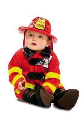 disfraz de bombero beb