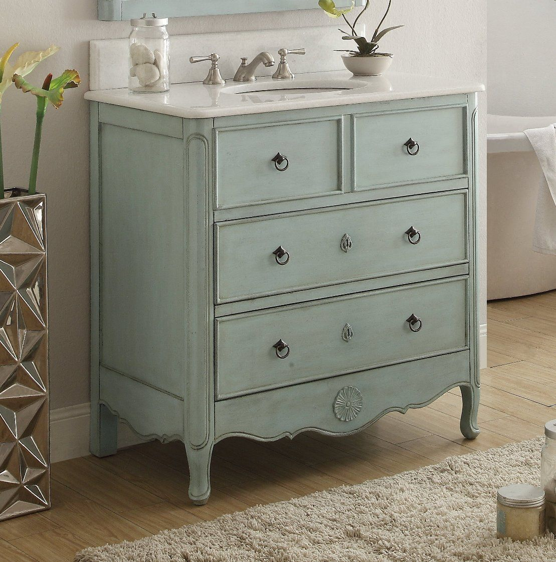 that white antique furniture edmeston vanities like look bathroom inch vanity