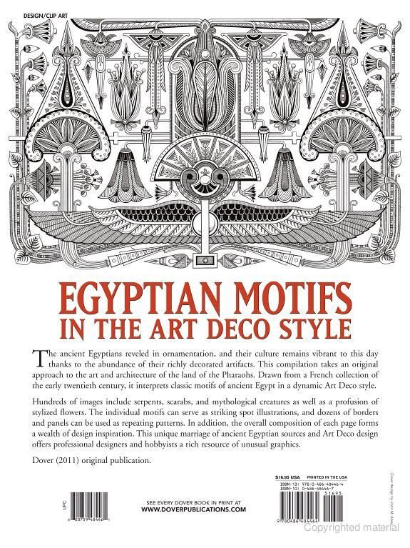 Egyptian Motifs In The Art Deco Style Ancient Egypt Art Art