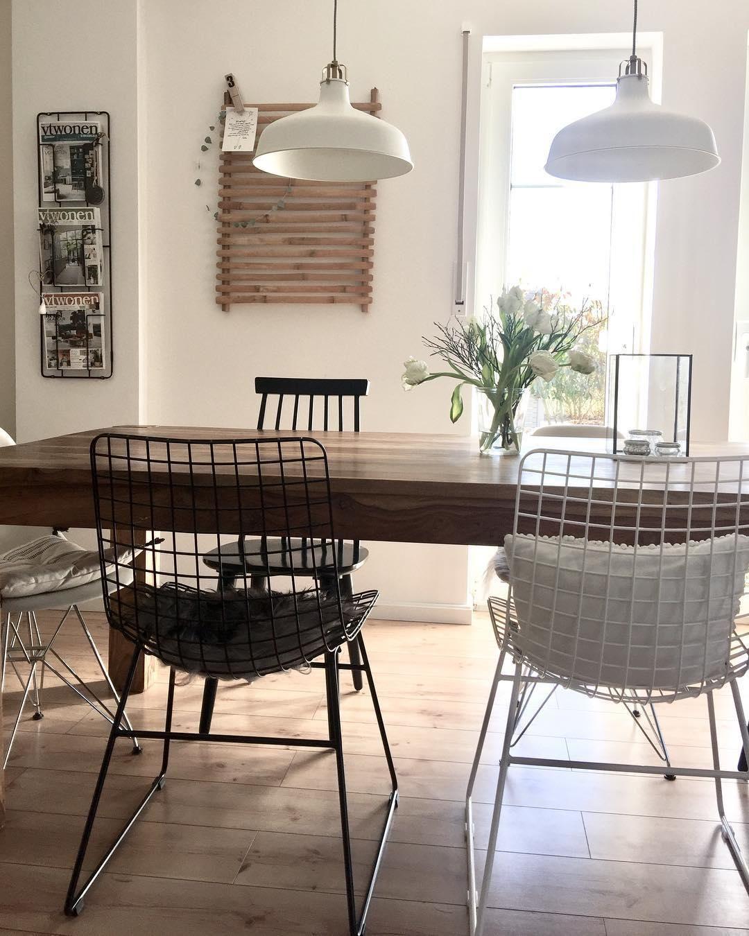 Das Hat Steel Mobel Spiegel Und Leuchten Im Wire Design Sind Wieder Schwer Angesagt Warum Durch Ihre Esszimmerstuhle Esszimmer Dekor Ideen Inneneinrichtung