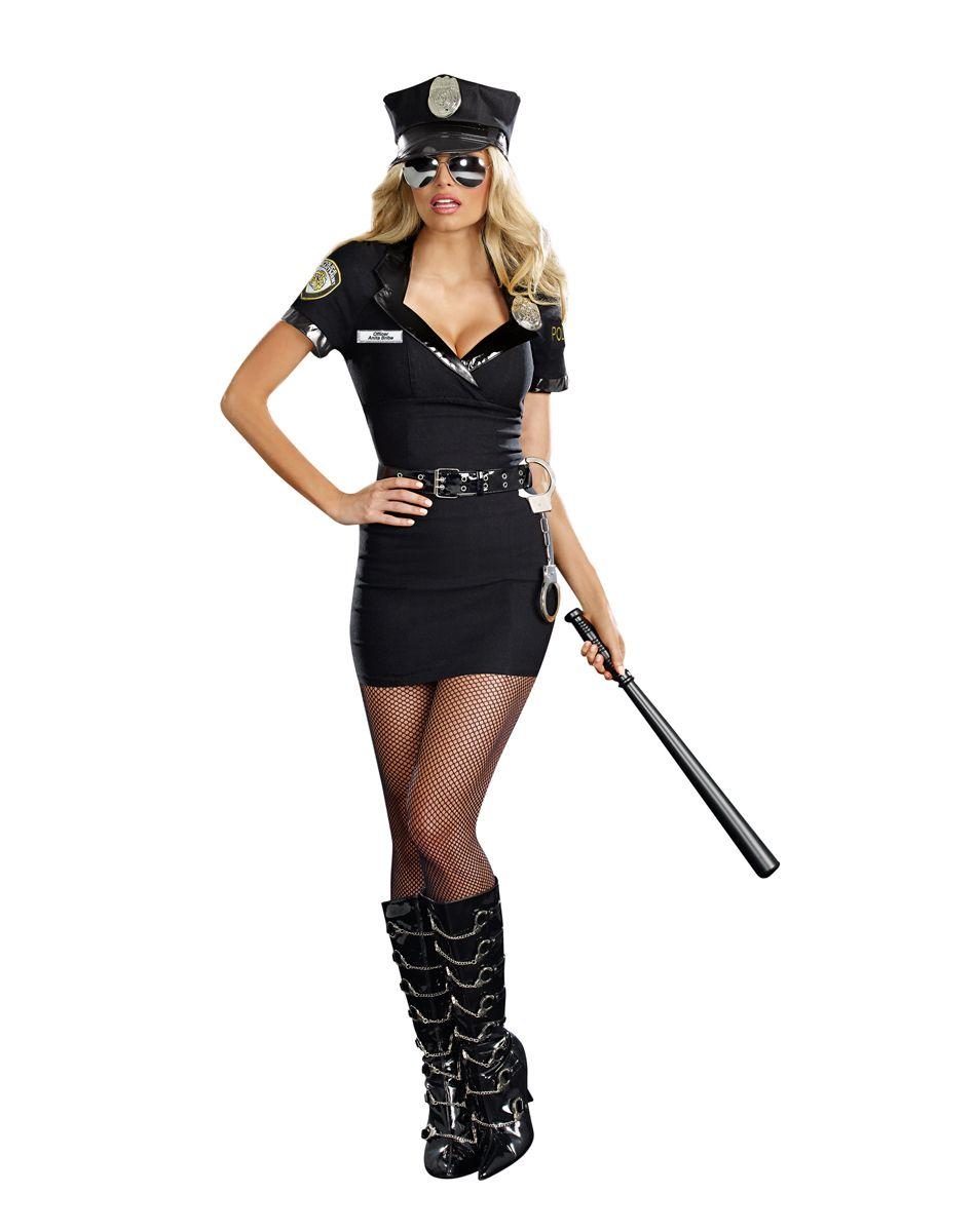 Dirty Cop Anita Adult Womens Costume  2c7e05b9d