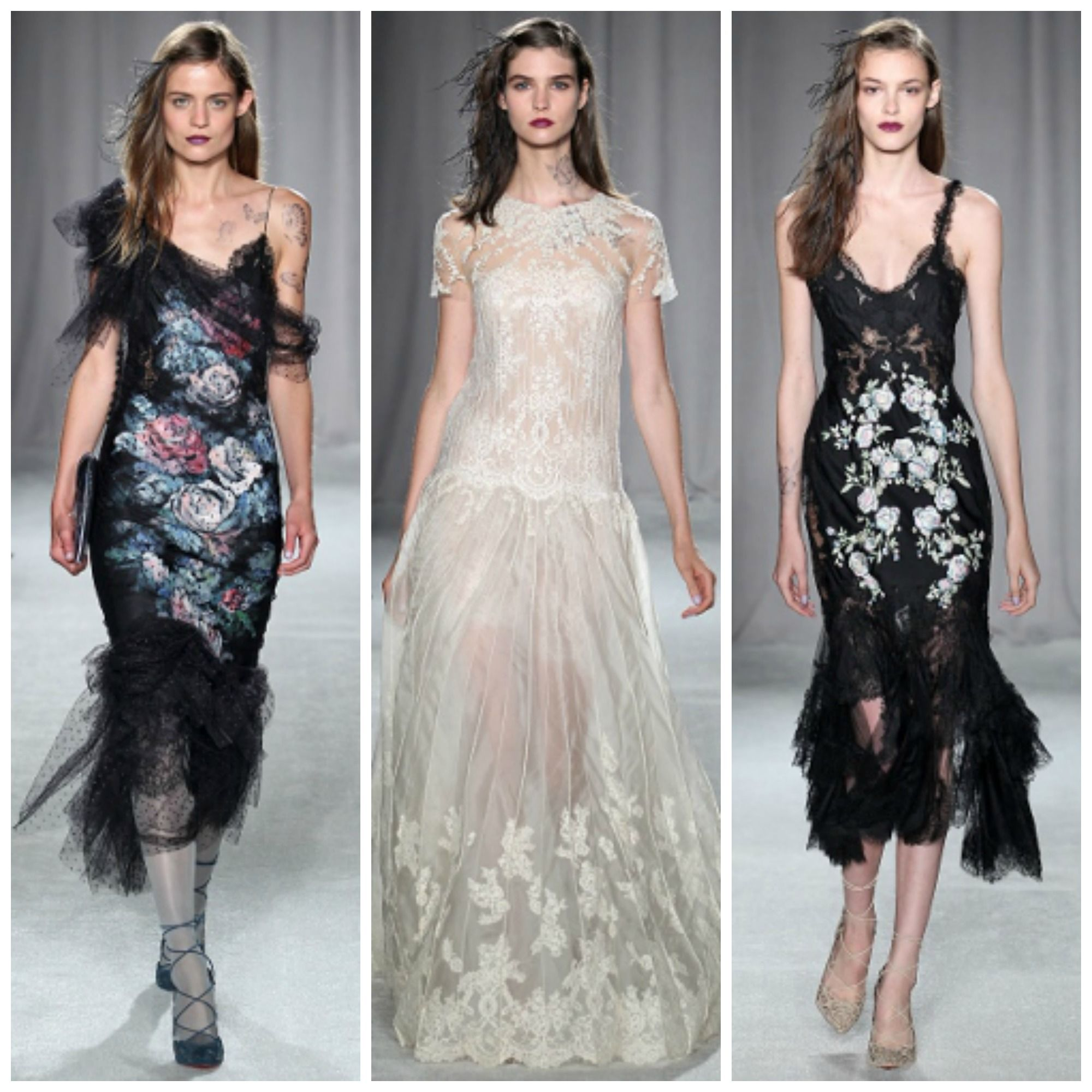 Going somewhere black-tie? Get inspired by Marchesa #Spring2014 now at:  http://www.focusonstyle.com/fashion-shows/spring-2014-fashion/page/2/
