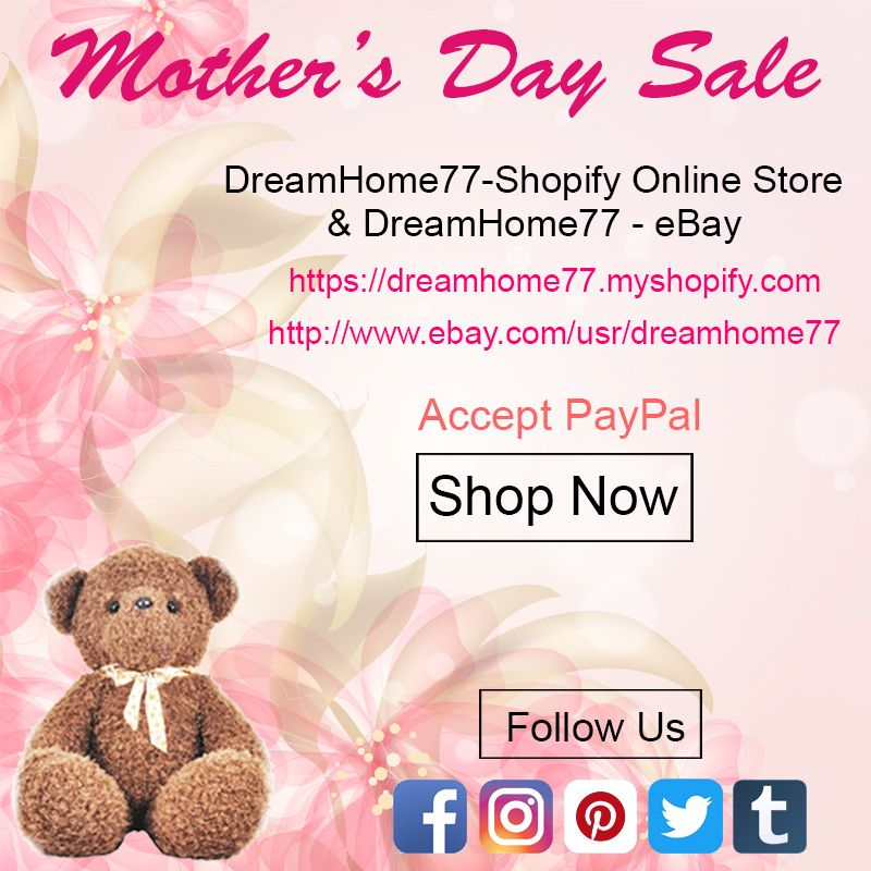 DreamHome77 - Mother\'s Day Sale Shop at http://www.ebay.com/usr ...