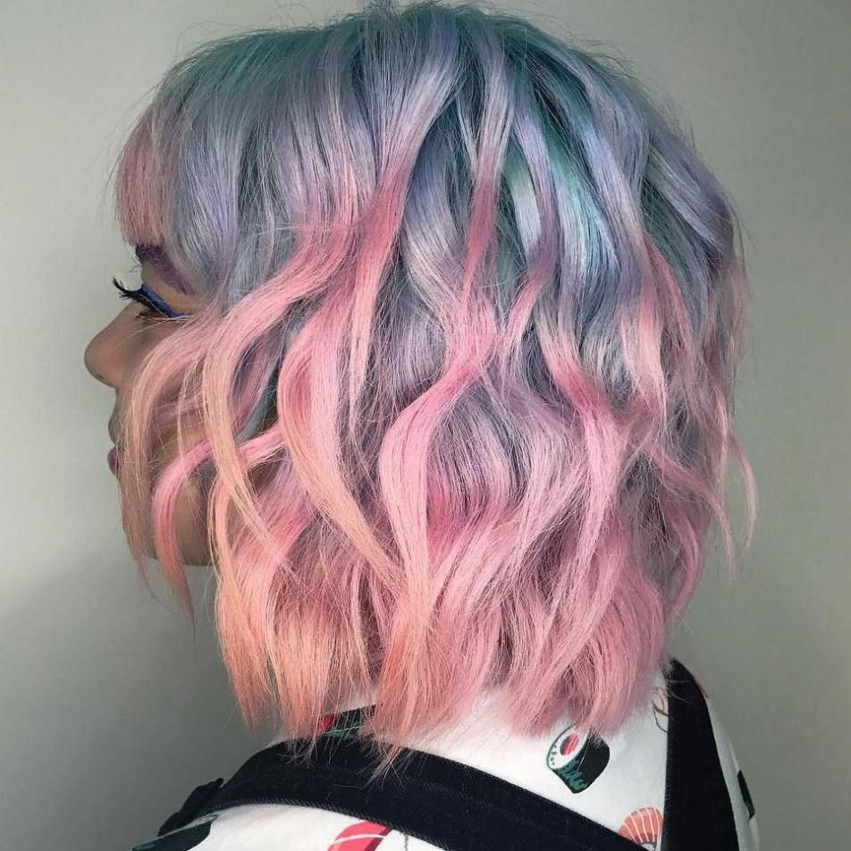 40 Two Tone Hair Styles Hair Styles Two Toned Hair Cool Hair Color