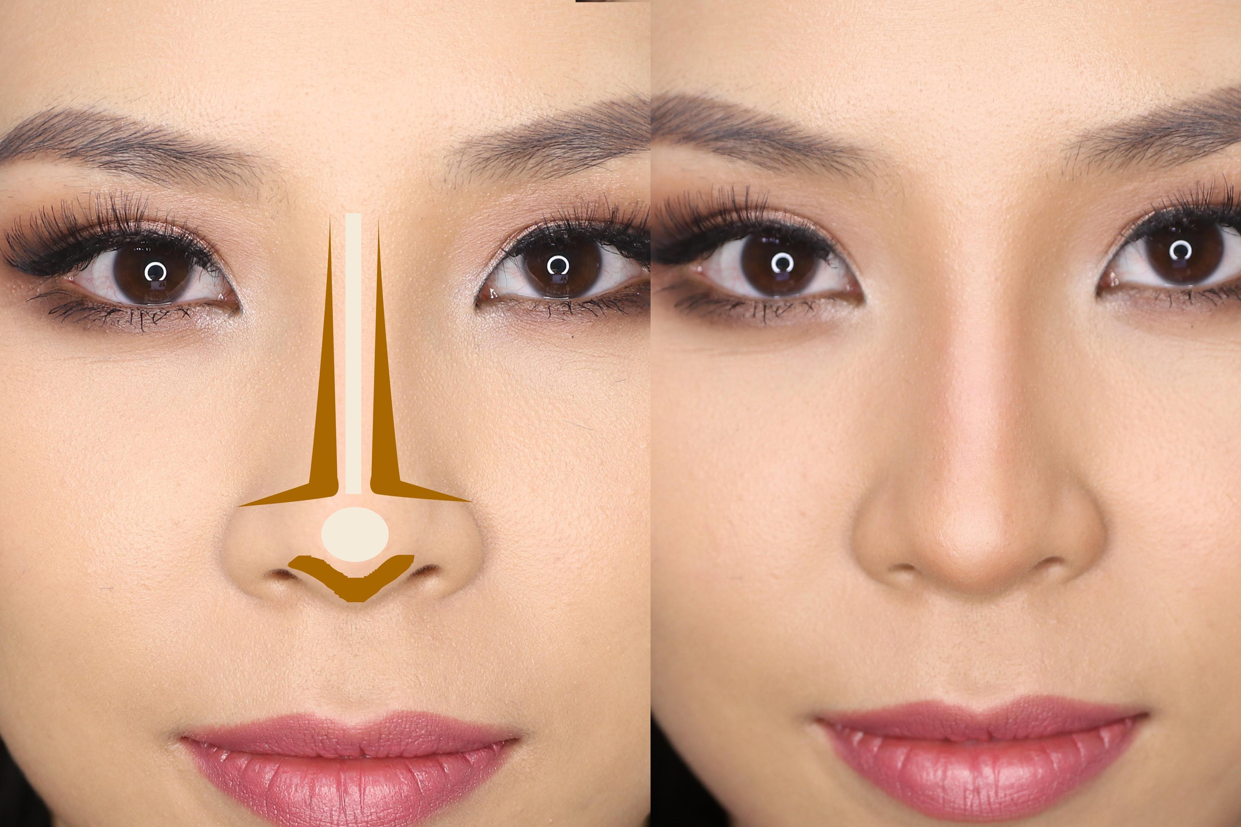 How to Contour Your Nose for Beginners Tina Yong Nose