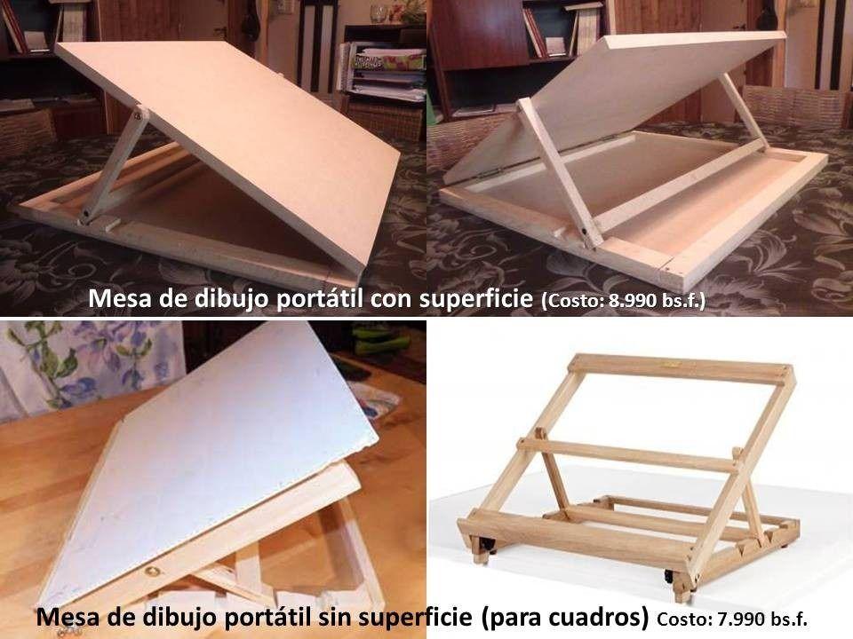 Caballete de madera atril tr pode mesa de dibujo - Caballetes para tableros ...