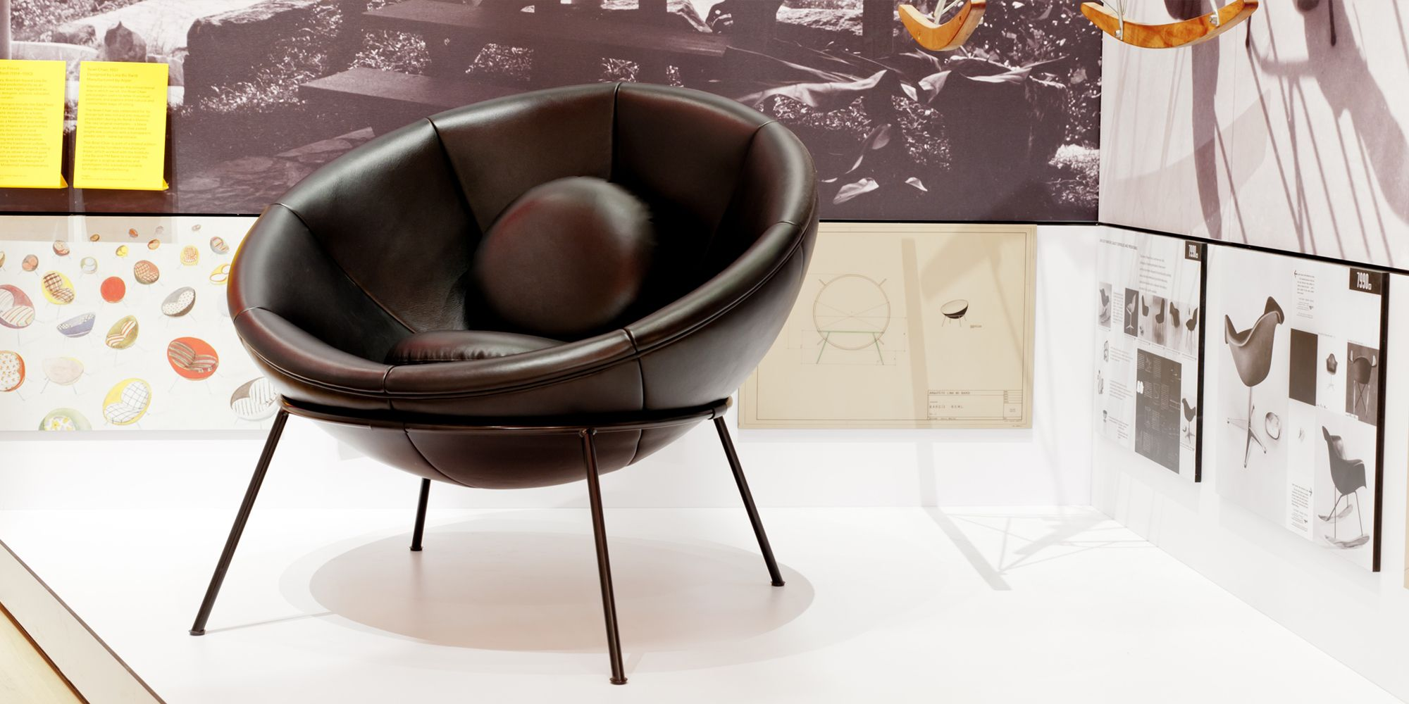 Arper s Bardi s Bowl Chair has entered the permanent collection of