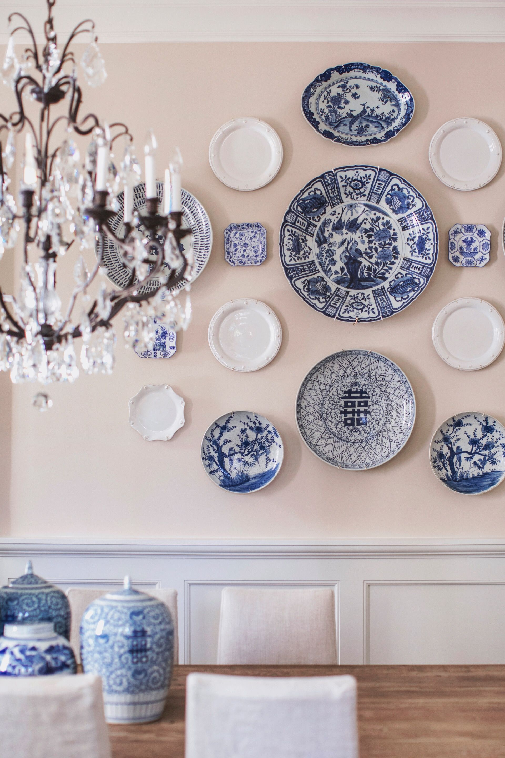 Blue And White Decorative Wall Plates Enchanting Pinborn On Fifth On Style  Home  Pinterest  Mantle Room Decorating Design