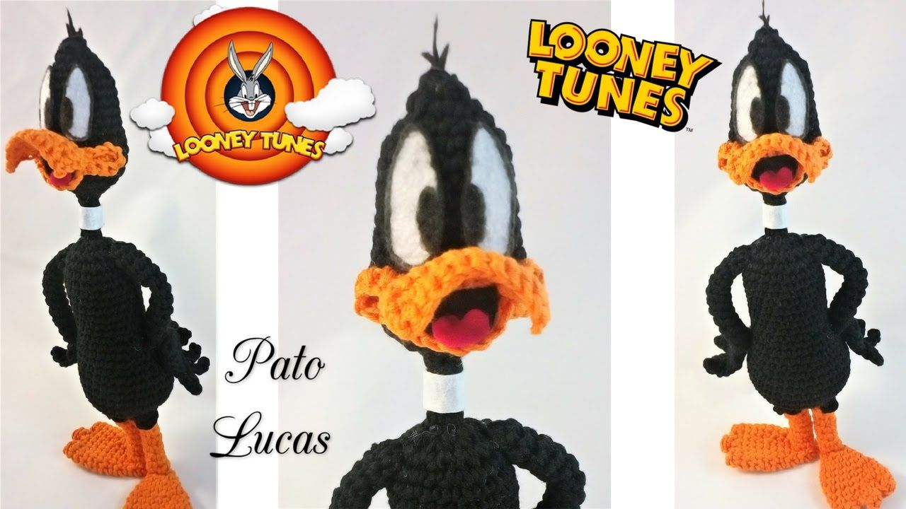 Como montar al Pato Lucas!! | Patrigurumis | Pinterest | Pato lucas ...