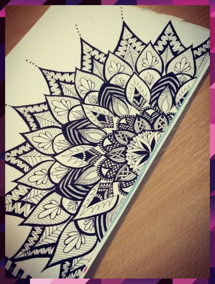 40 Beautiful Mandala Drawing Ideas & Inspiration - #Beautiful #drawing #Ideas #I... #Beautiful #drawing #Ideas #Inspiration #Mandala
