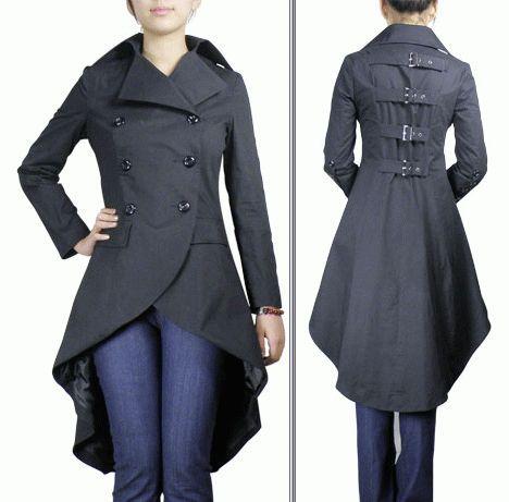 patron couture veste queue de pie   Steampunk   Veste, Manteau et ... 1fdf0c621bd4