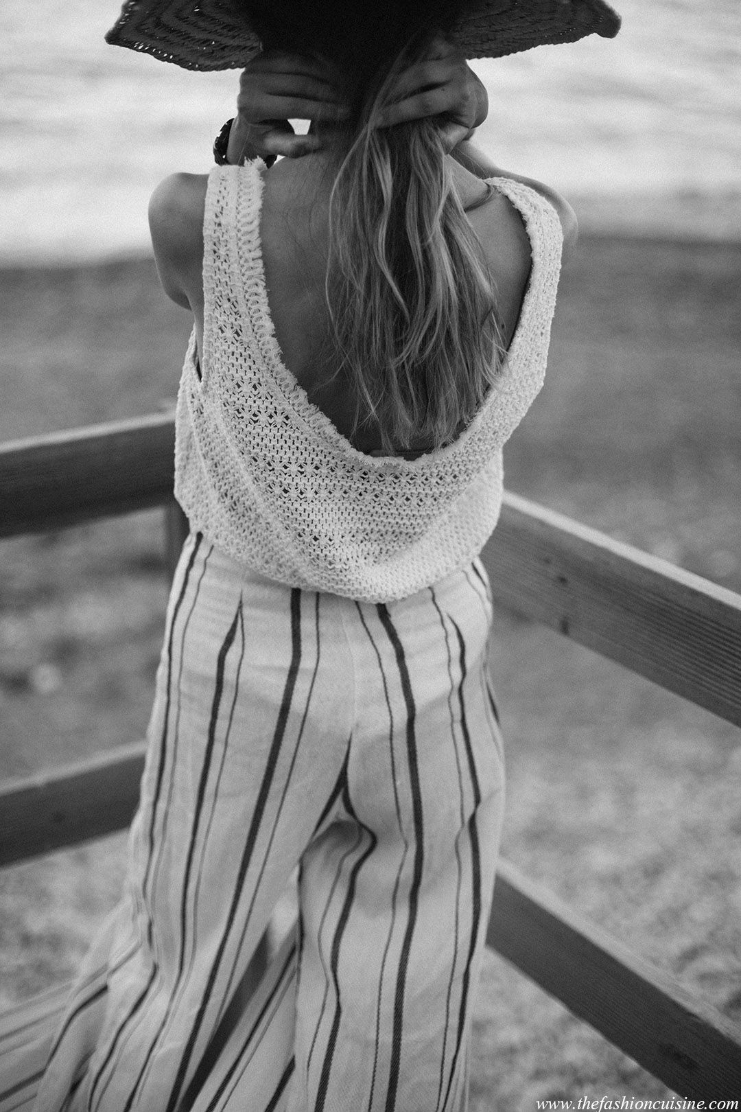 Salt • the fashion cuisine black and white summer tumblr girl photography effortless style