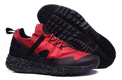 on sale 772a1 45242 Nike Air Huarache rouge et noir (40) Nike  httpwww.amazon.frdpB01827ACBErefcmswrpidpyYkwwb0WXZ052