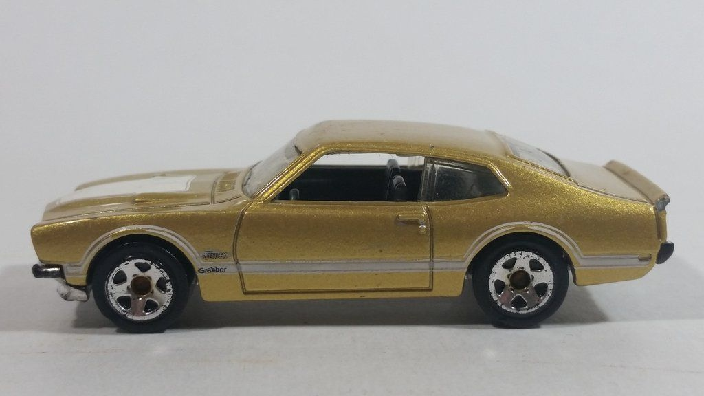 Mattel Hot Wheels 71 Maverick Grabber Ford Malaysia Decals 2012