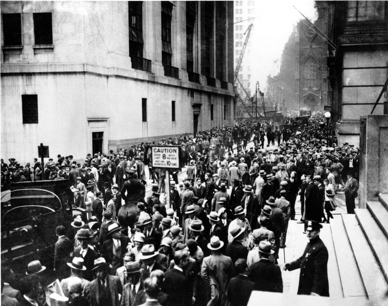 US, New York (NY), Wall Street Crash, 1929.