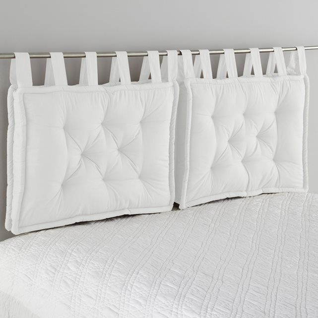 Cuscino per testata del letto rifinito in modo incantevole