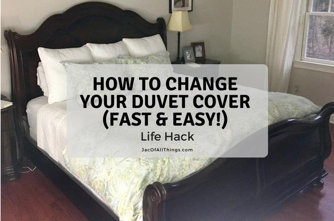 How To Change A Duvet Cover Life Hack Duvet Covers Duvet Life Hacks