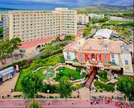Sol Katmandu Park And Resort Palma De Mallorca Mallorca Spania Voyage Sport