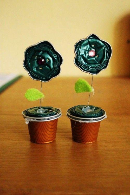 85 Ideen Zum Basteln Mit Kaffeekapseln Kinderleicht Und