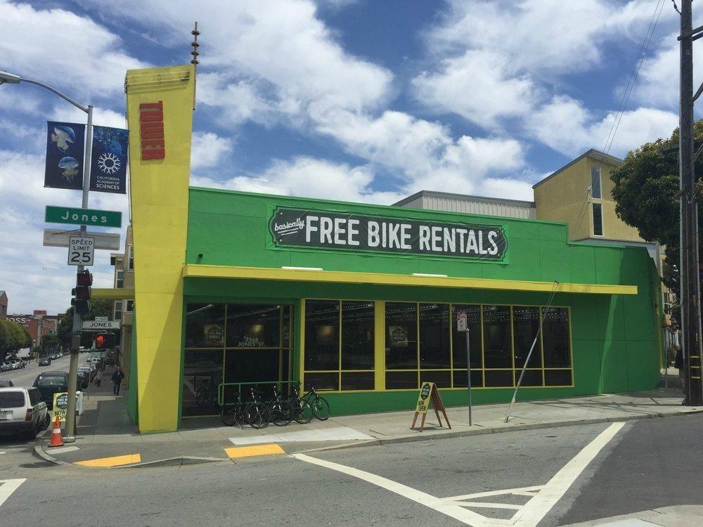 Basically free bike rentals san francisco 2019 all you