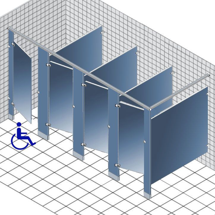Our Line Of ADA Approved Commercial Toilet Partitions Add Privacy To - Ada bathroom partitions