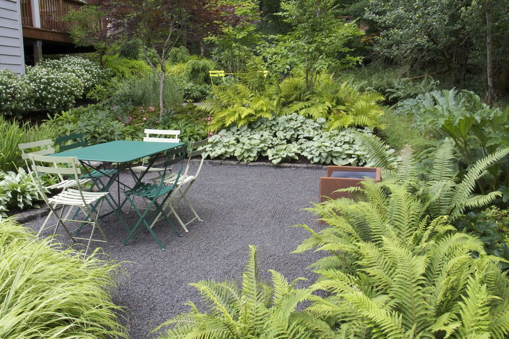 Quarter Minus Gravel Is A Soft, Low Maintenance And Lower Cost Option For A  Path Or Terrace. Its Dark Gray Color Looks Quite At Home In This Shady, ...