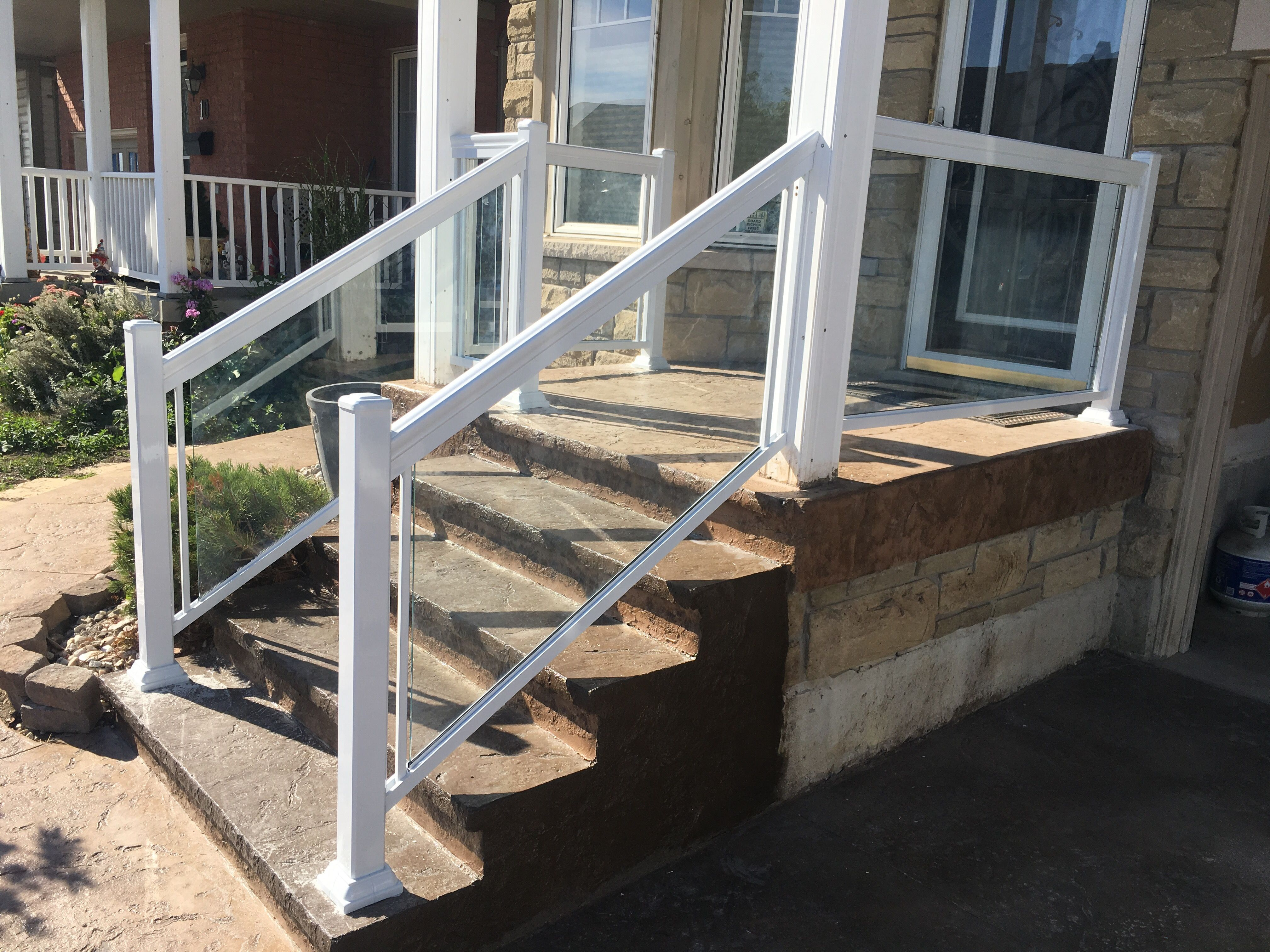 Find This Pin And More On Glass Railings By Aluminumrailing