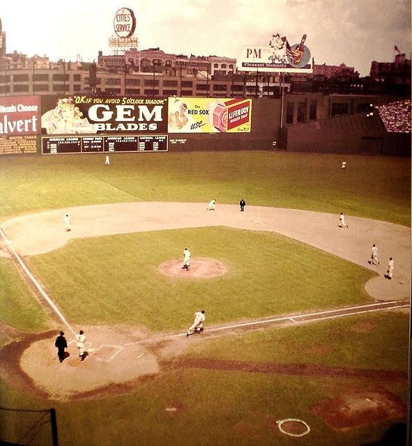 Fenway Park, home of the Boston Red Sox (1940s) | Fenway Park ...
