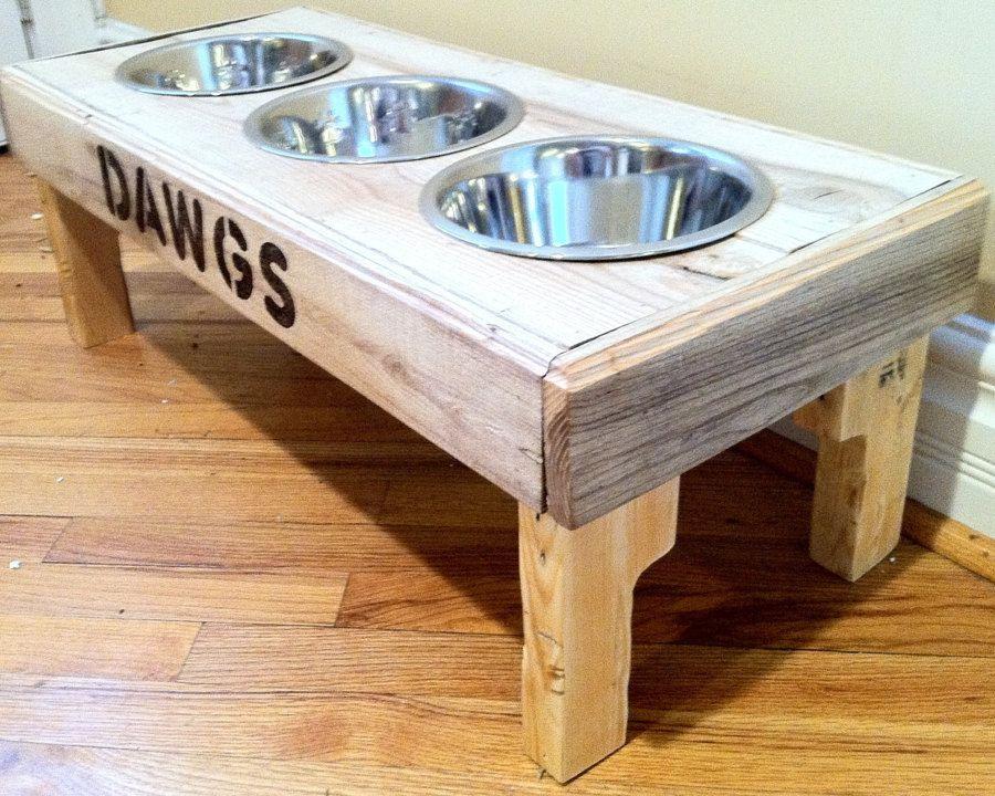 comedor perro todo Pinterest Comedores, Palés y Listones de madera
