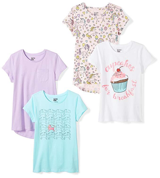 Spotted Zebra Girls Sleeveless Tunic T-Shirts Tunic Shirt