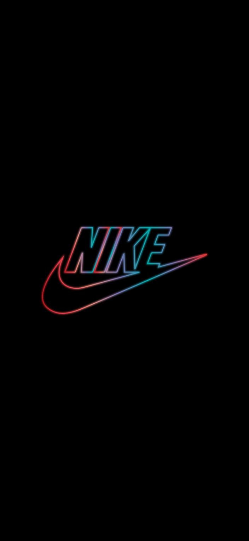 Nike Neon Oled Black Wallpapers Wallpaperize Black Wallpaper Nike Wallpaper Wallpaper