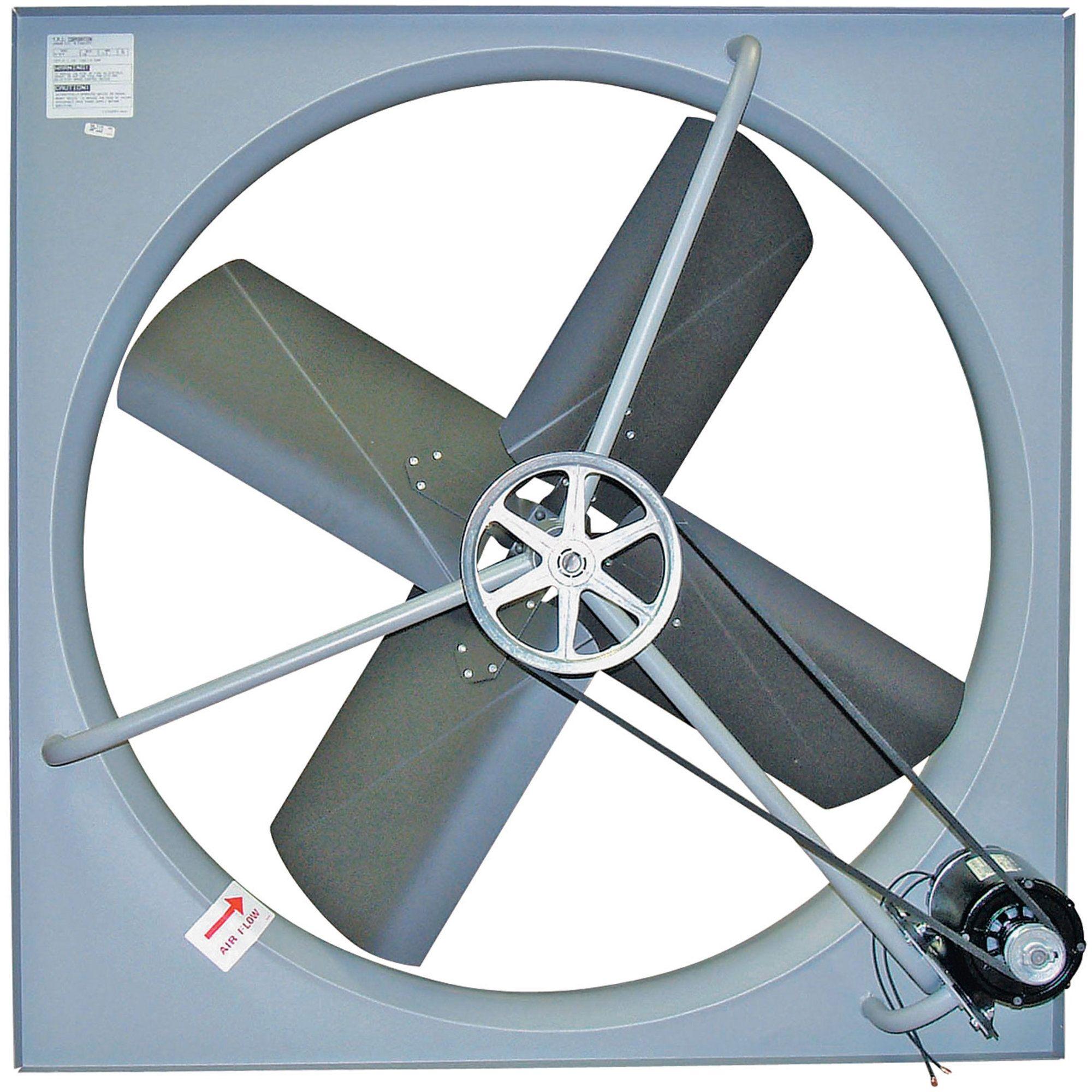 exhaust fan belt driven exhaust fan