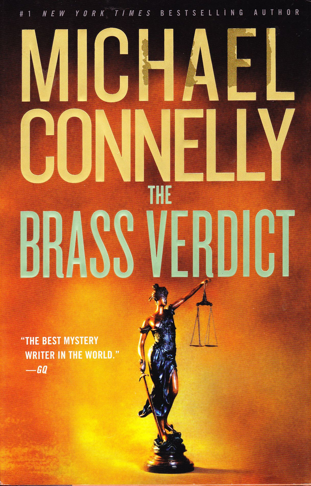 Book review the brass verdict by michael connelly mickey