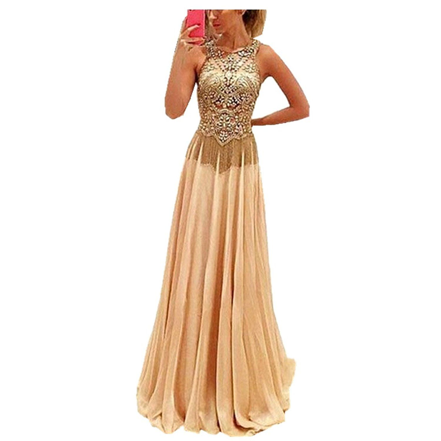 Dressesonline beaded prom dresses long luxury prom gown pds