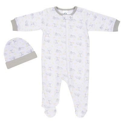 Gerber� Newborn Organic Sleep N' Play and Hat Set