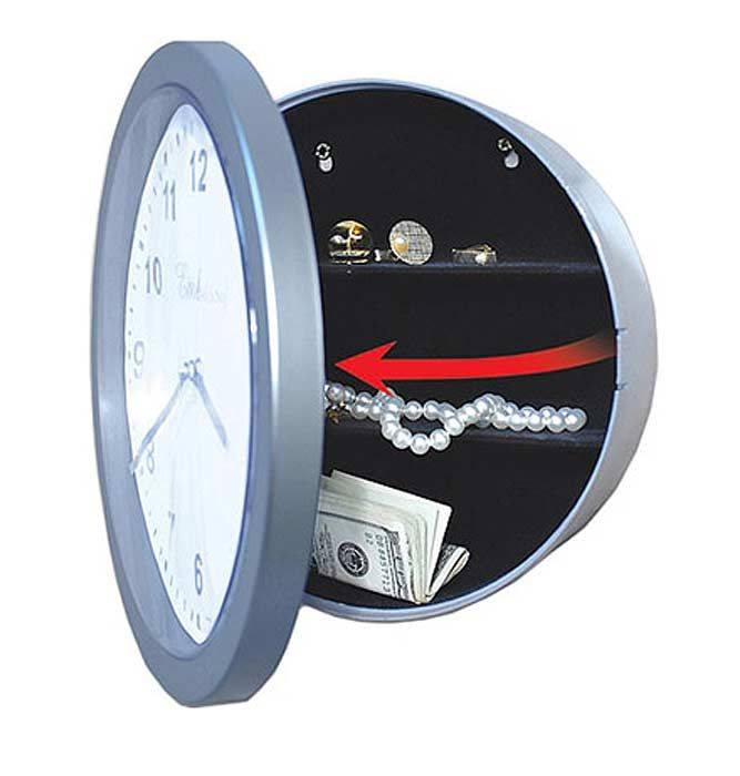 Hidden Compartment In A Wall Clock Secret Compartment Hidden