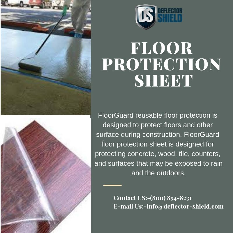 Floor Guard Reusable Protection