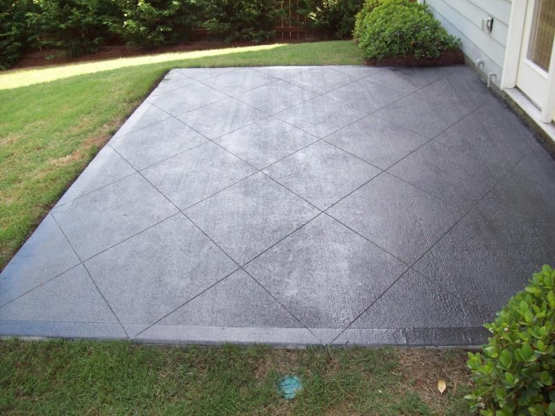 Image Of: Black Staining Concrete Patio Colored Concrete Patio, Stained  Concrete Patios, Concrete
