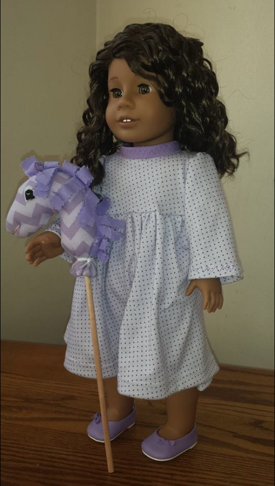 FREE Doll Sized Hobby Horse Sewing Pattern From Ellie Inspired For ...