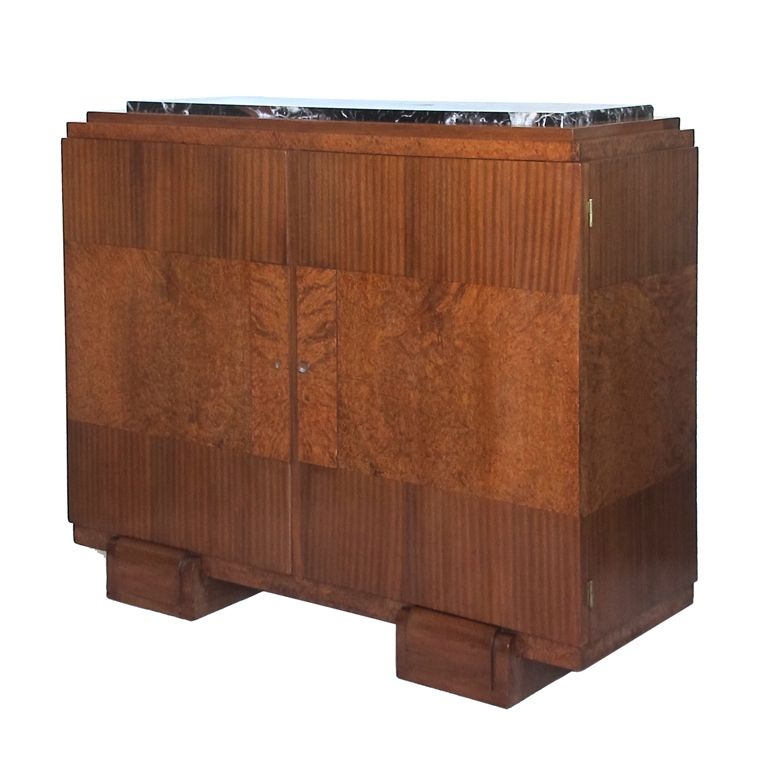 French Art Deco Buffet/Bar Cabinet   From A Unique Collection Of Antique  And Modern