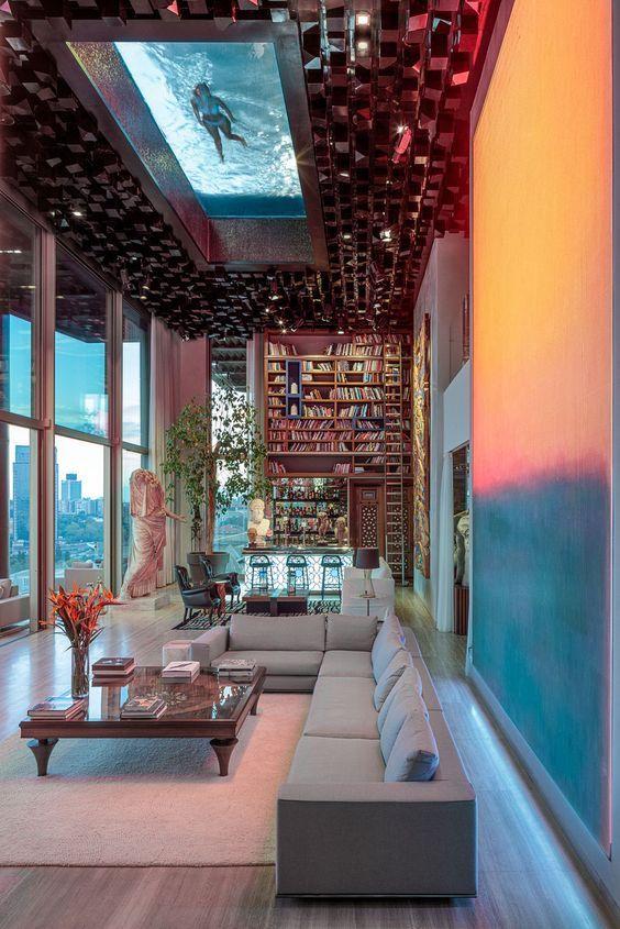 A Luxury Penthouse Embellished With Love Of Jewel-Like