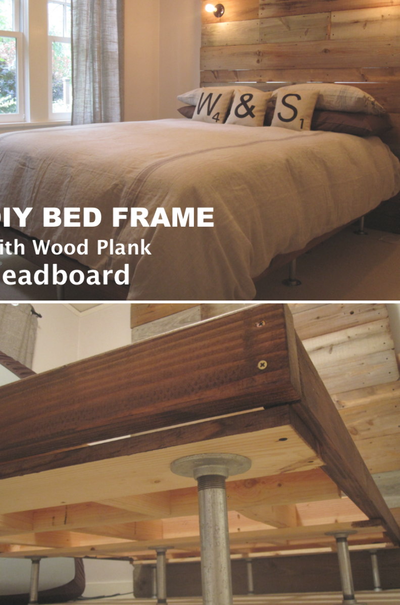 Pin Di Diy Bed Frame