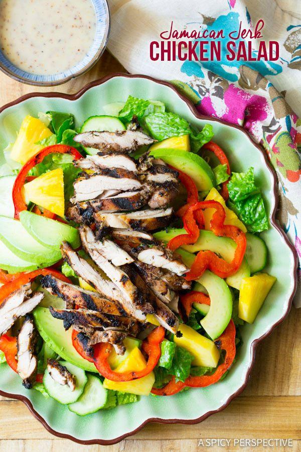 A Spicy Perspective Jamaican Recipes Salad Chicken Recipes