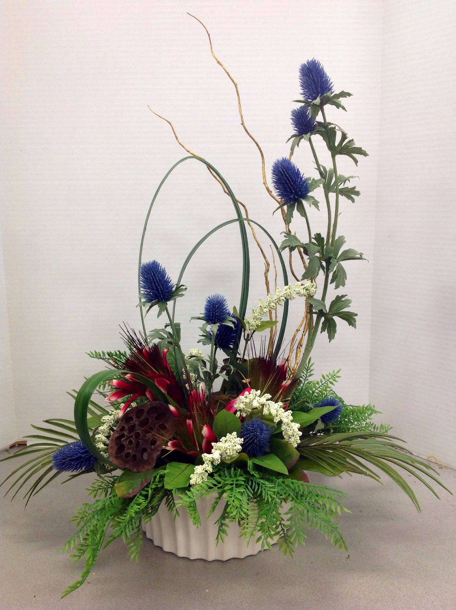 Arrangements Made At Michaels On Pinterest Robins